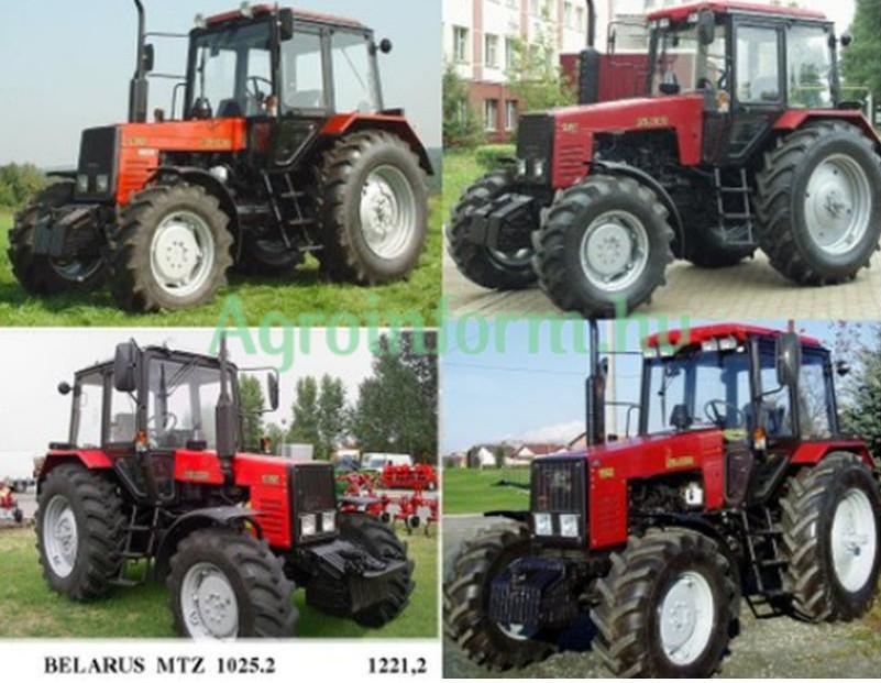 Belarus 1221.2 traktor Agrosat