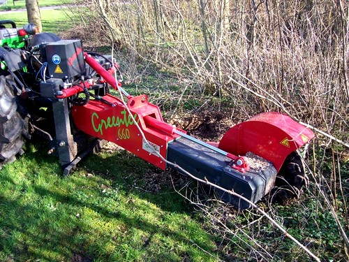 Greentec 660 és Piranha Stump Grinder tuskómaró